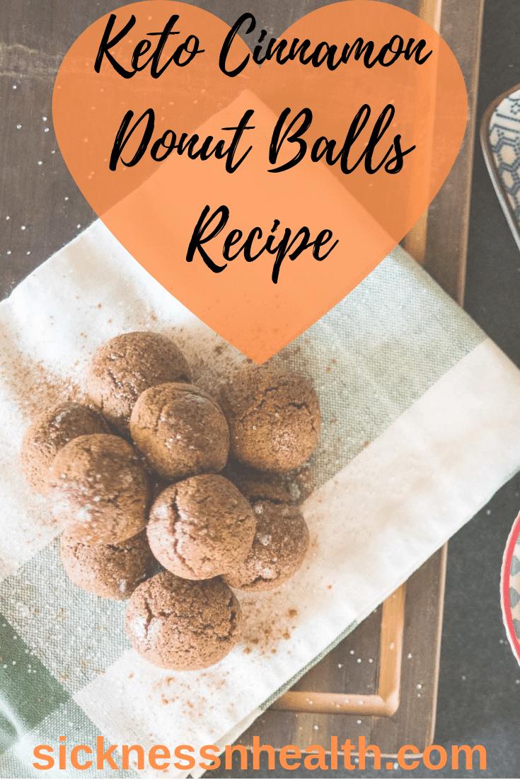 Keto Cinnamon Donut Balls Recipe