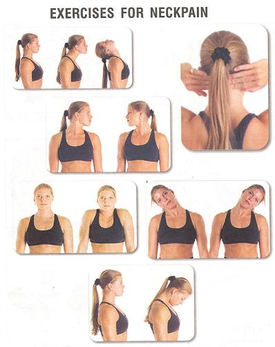 neck pain relief home remedies