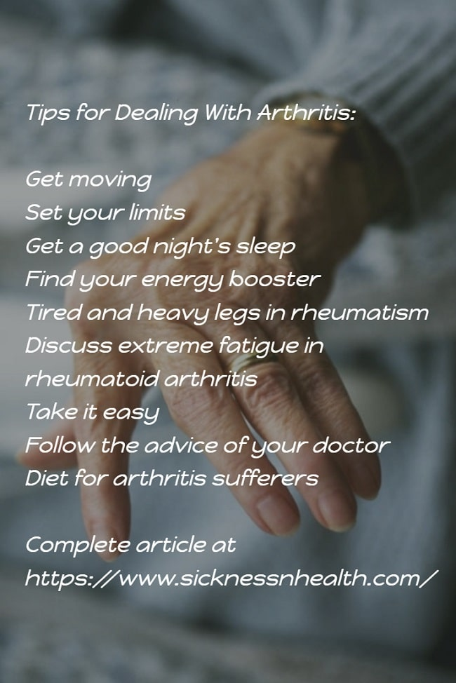 Tips for Dealing With Arthritis