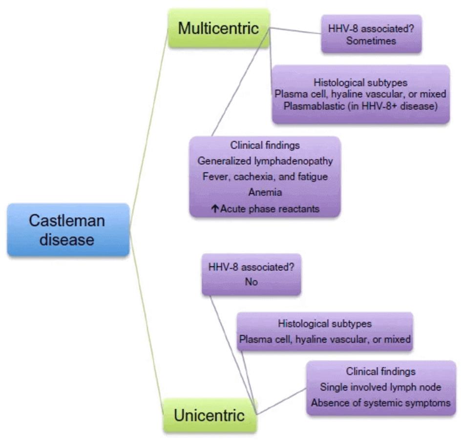 Castleman Disease Symptoms