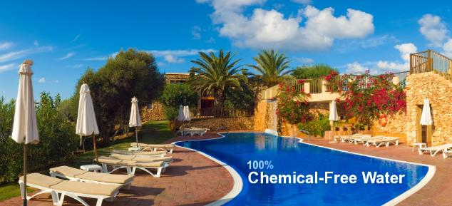 no chlorine pool